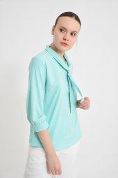 Açık Yeşil Bayan Bluz 6405 3