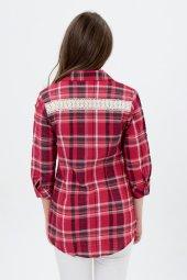 Bayan Kareli Gömlek Tunik 7355 3