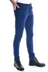 Erkek Mavi Slimfit Kot Pantolon-3