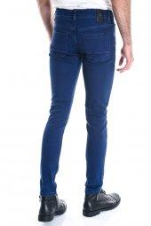 Erkek Mavi Slimfit Kot Pantolon-4