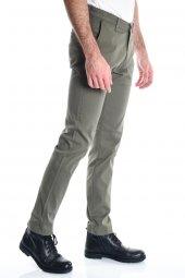 Haki Slimfit Chino Erkek Pantolon-3