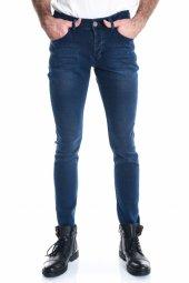 Yeni Örme Kumaş Lacivert Rodeo Erkek Kot Pantolon