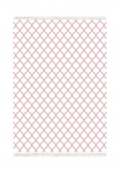 Belemir K356 Oge Beyaz Pembe Dekoratif Halı