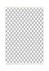 Belemir K358 Oge Beyaz Gri Dekoratif Halı