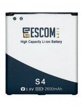 Escom Samsung Galaxy S4 I9500 Batarya 2600 Mah