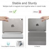 iPad 12.9 Pro 2018 Kılıf, ESR Yippee,Silver Gray-7