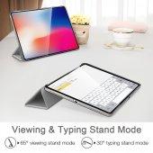 iPad 12.9 Pro 2018 Kılıf, ESR Yippee,Silver Gray-9
