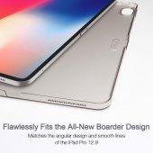 iPad 12.9 Pro 2018 Kılıf, ESR Yippee,Silver Gray-12