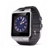 Smart Watch Akıllı Saat Dz09 Sim Kart Girişli Kameralı Ime Kayıtlı Gümüş