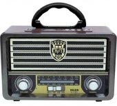 Meier M 113bt Şarjlı Nostaljik Bluetooth...