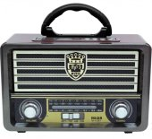 Meier M 113bt Şarjlı Nostaljik Bluetooth Hoparlör Fm Radyo Usb Sd Mp3
