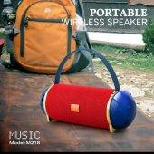 M218 Bluetooth Speaker Kırmızı