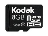 Kodak Extra 8gb Micro Sd Hafıza Kartı Ve Adaptör Sdhc Class 10
