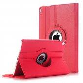 Apple İpad Pro 11 360 � Dönebilen Standlı Tablet Kılıfı Kırmızı