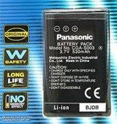 Panasonic CGA S003 Batarya Pil  7.2V 680mAh-2