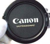 Canon 58mm Snap On Ultrasonic Lens Kapağı