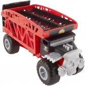 Hot Wheels Monster Truck Araba Taşıyıcı Kamyon