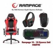 Rampage KL-R40 Throne Oyuncu Koltuğu + Rampage Oyuncu Seti HEDİYE