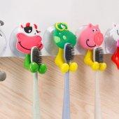 Freecook Oky 555 Vantuzlu Çocuk Diş Fırçası Ve...