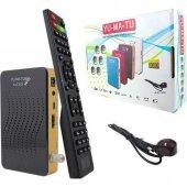Yumatu Full HD 1080p Mini Uydu Alıcısı Otomatik Kanal Güncelleme