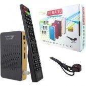 Yumatu Full HD 1080p Mini Uydu Alıcısı Otomatik Kanal Güncelleme-9