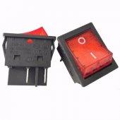 5 ADET WELSONG Rocker Anahtarı JD03-A1 30Ah 125/250VAC 4 PİN LED