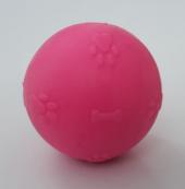 Cca Köpek Oyuncağı Kokulu Top Pembe 5 Cm