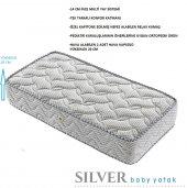 Kupons Ortopedik Silver Bebek Yatağı 50x90 Cm 20 Cm Yükseklik