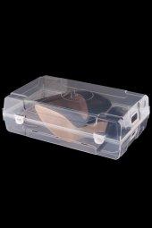 Beyaz 6lı Bayan Ayakkabı Kutusu