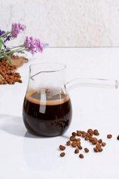 Cam Kahve Cezvesi