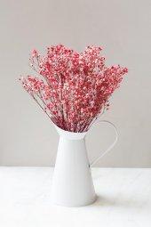 Kırmızı Yapay Cipso Çiçek