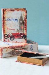 London Kitap Şeklinde 3lü Kutu