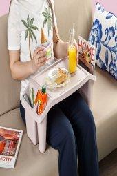 Pembe Çok Amaçlı Çocuk Hobi Masası-2