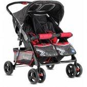Babyhope P-L İkiz Bebek Arabası-AYAK ÖRTÜSÜ HEDİYELİ