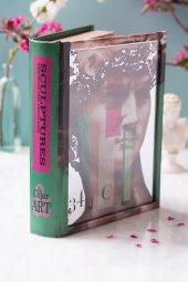 Yeşil Heykel Kitap Şeklinde Aynalı Kutu