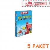 Buz Torbası Cook 5 Paket (35 Adet Buz Torbası)