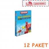 Buz Torbası Cook 12 Paket (84 Adet Buz Torbası)