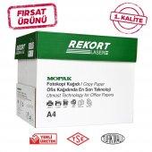 Mopak Rekort A4 80 Gr Fotokopi Kağıdı 5x500 Lü (1 Koli)