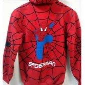 Spiderman Örümcek Adam Maskeli Hırka-2
