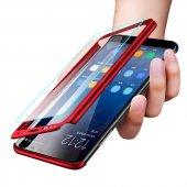 Samsung Galaxy A6 2018 360 Derece Tam Koruma Kılıf Darbe Dayanakl