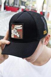 DeepSEA Çerçeveli Tilki Desen Ayarlanabilir Boyut Fileli Şapka 1908790