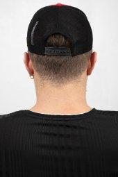 DeepSEA Çerçeveli Tilki Desen Ayarlanabilir Boyut Fileli Şapka 1908790-5