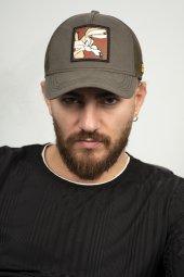DeepSEA Çerçeveli Tilki Desen Ayarlanabilir Boyut Fileli Şapka 1908790-6