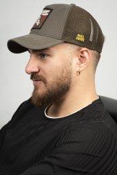DeepSEA Çerçeveli Tilki Desen Ayarlanabilir Boyut Fileli Şapka 1908790-7