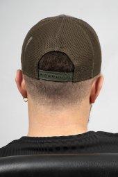 DeepSEA Çerçeveli Tilki Desen Ayarlanabilir Boyut Fileli Şapka 1908790-8