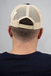 DeepSEA Çerçeveli Tilki Desen Ayarlanabilir Boyut Fileli Şapka 1908790-11