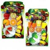 Meyve Kesme Set 12 Parça Food Heaven Kesilebilir Meyve Sebze Seti