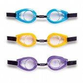 Intex Yüzücü Gözlüğü 3 Renk 3 8 Yaş Deniz...