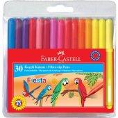 Faber Castell Fiesta Keçeli Kalem 30 Renk
