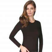 Yıldız Uzun Kollu Likralı Bayan T Shirt 2146